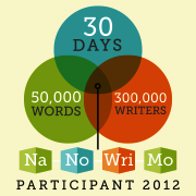 NaNoWriMo 2012 : Day 2