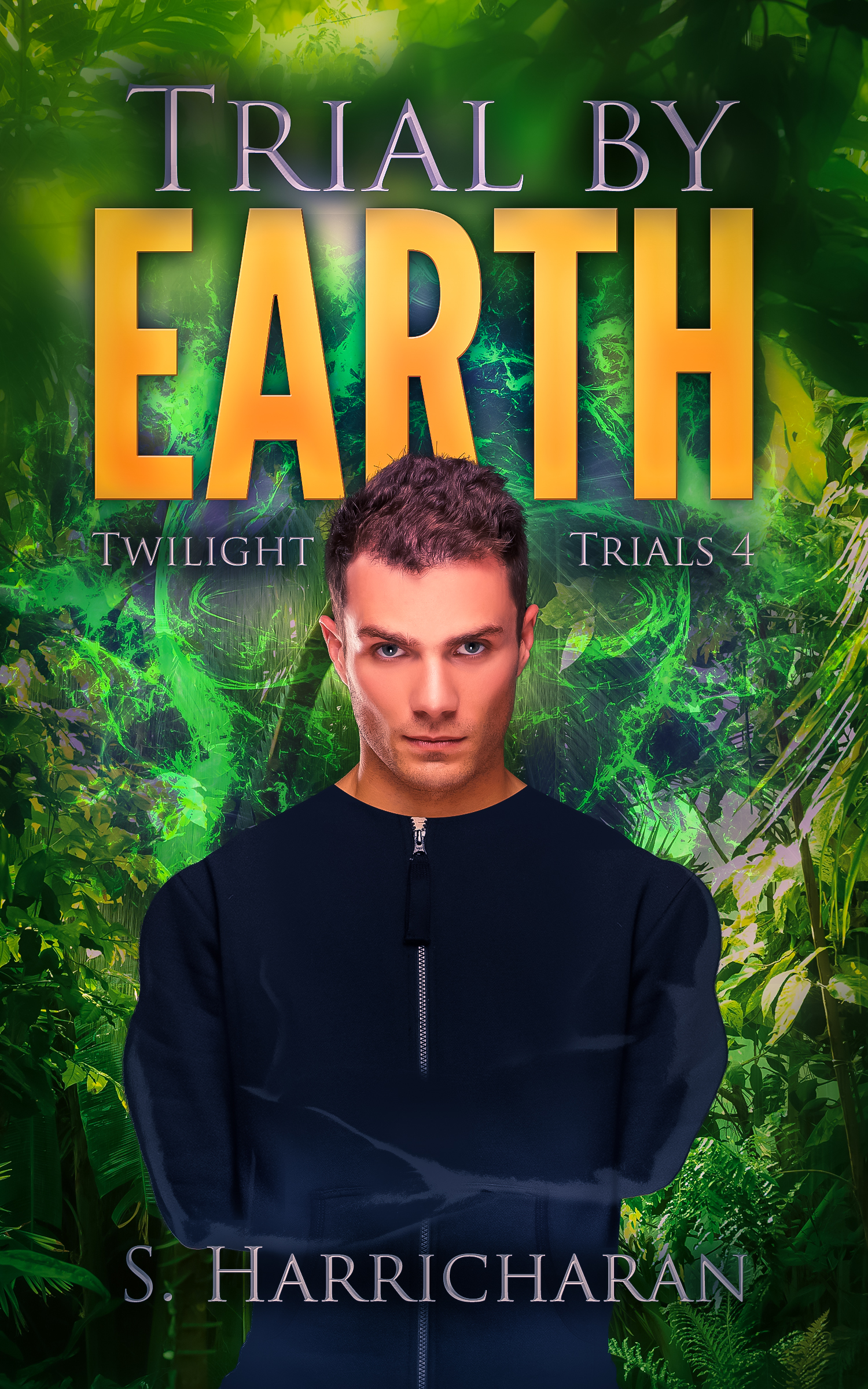 Trial by Earth Autographed Print Book