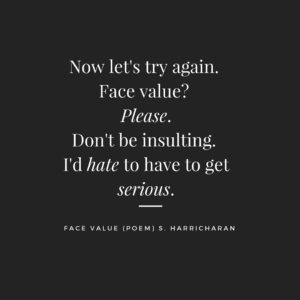 Face Value (poem)