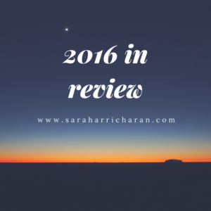 Year in review (2016 edition)